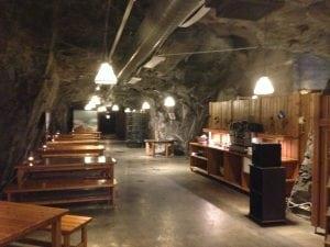 LKAB - nere i gruvan
